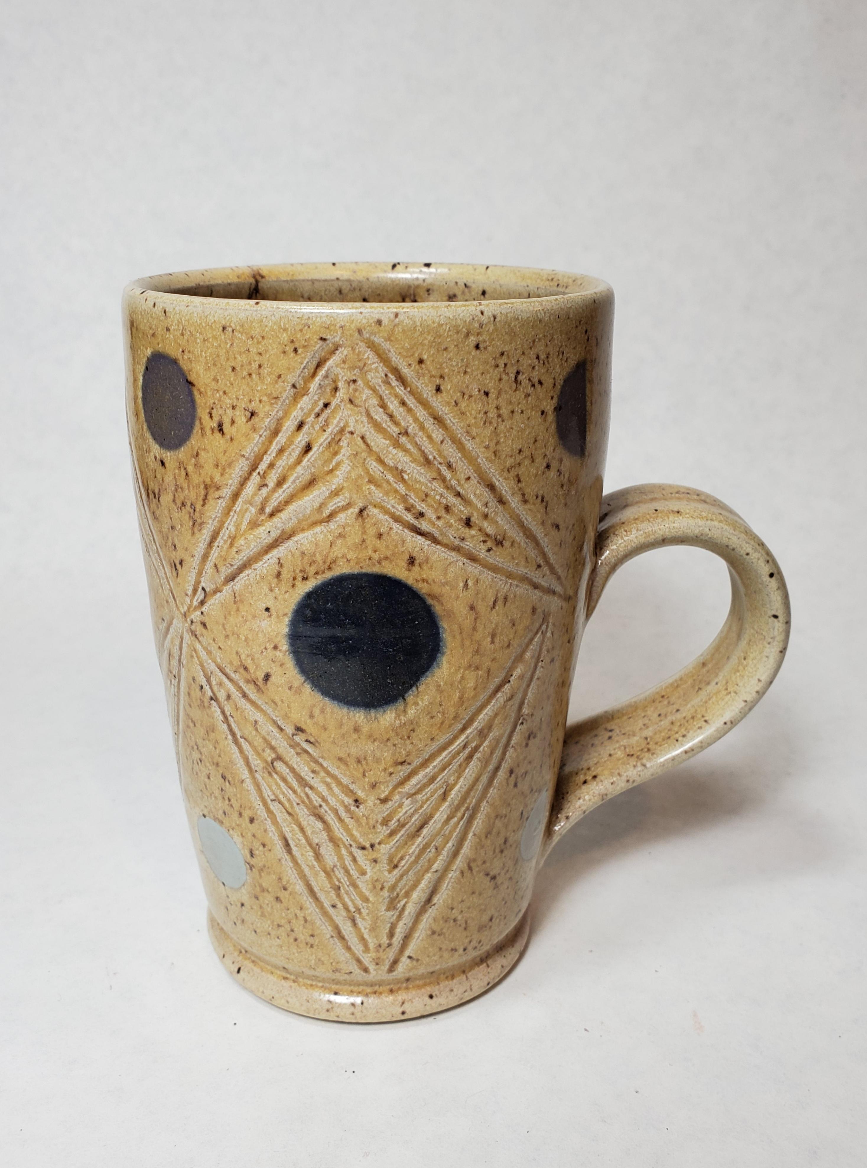 Large Tan mug