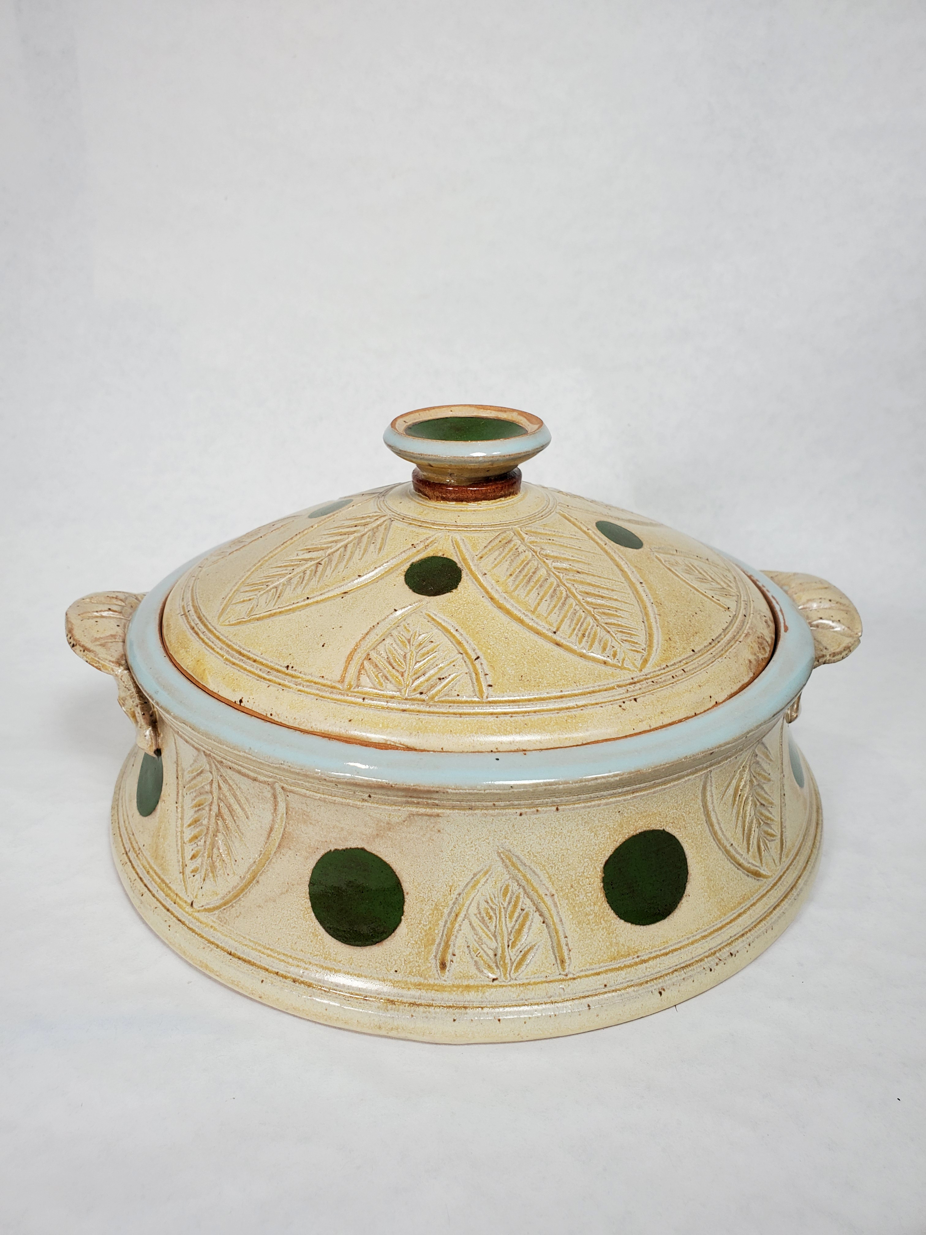Lidded Casserole Dish with handles