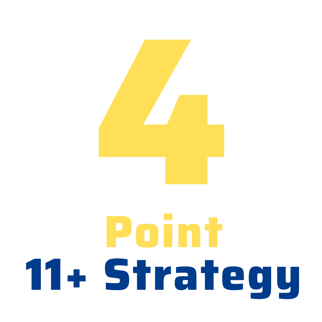 4 point 11+ strategy