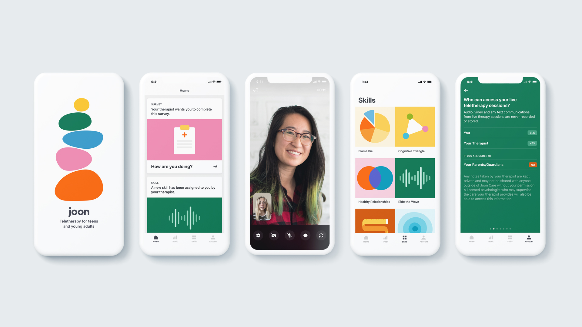 Product Images for the Youth Mobile App