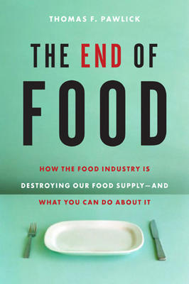 Book cover of The End of Food