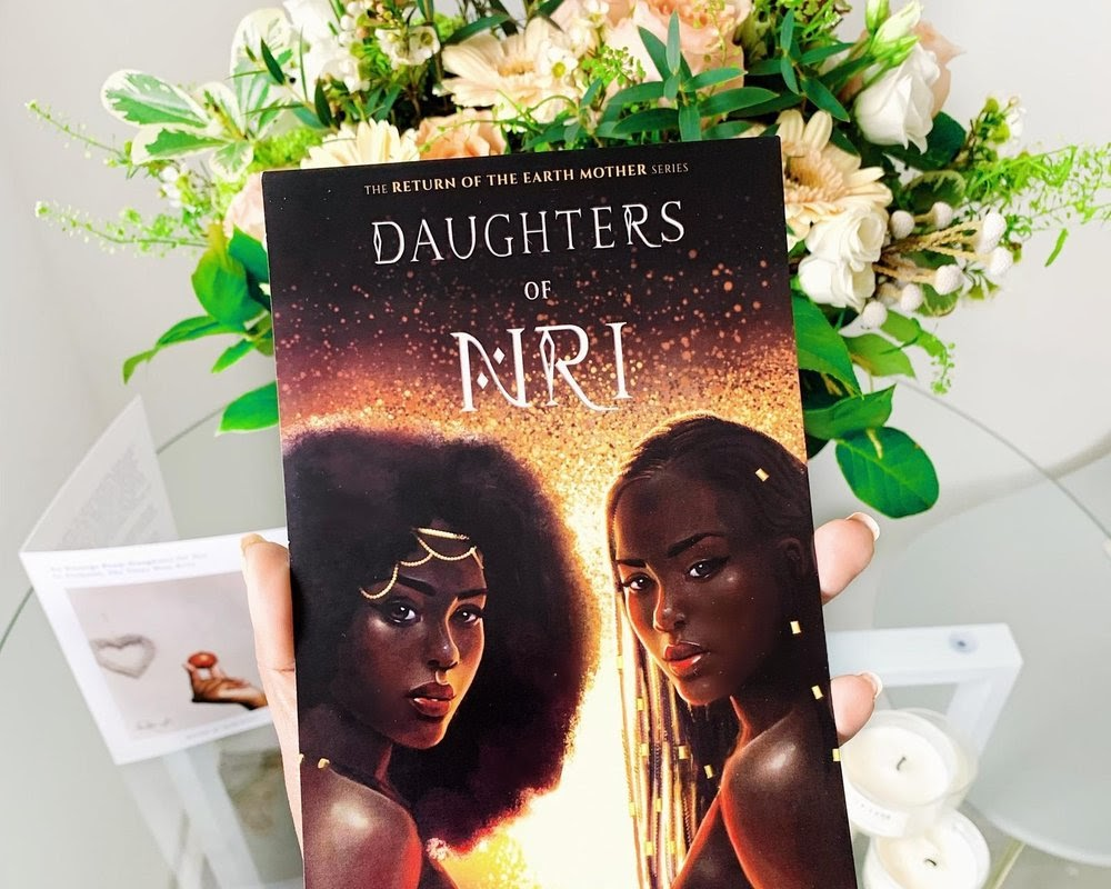 Enjoy the adventurous read of Daughters of the NRI. This shows the cover of the two magical twins.
