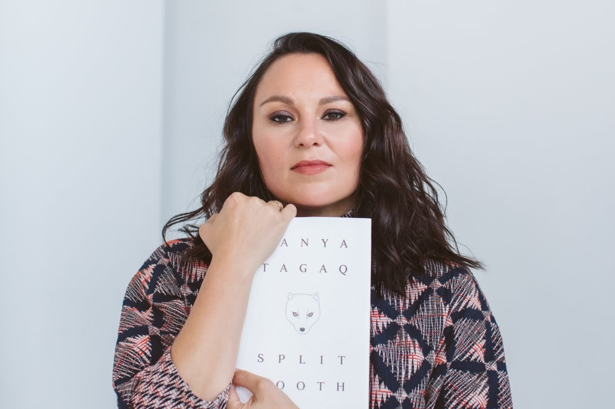 Tanya Tagaq holds her knock out memoir: Split Tooth.