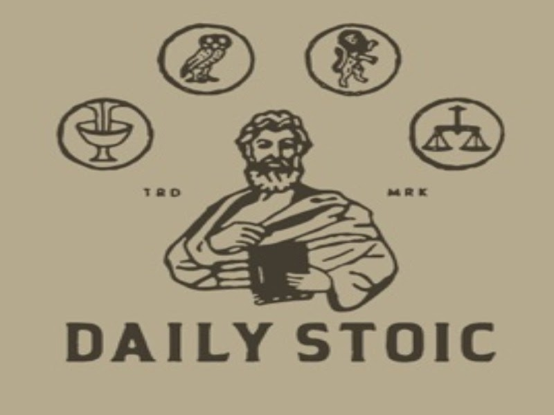 Cover art for The Daily Stoic
