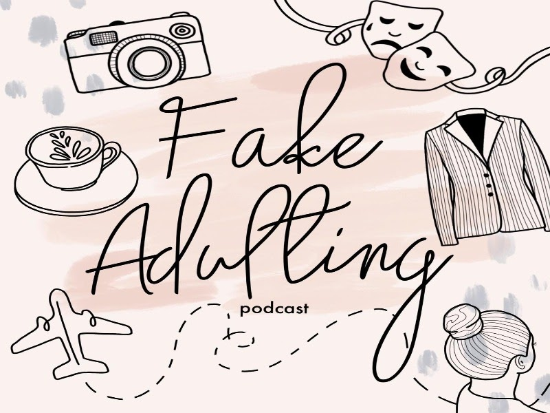 Cover art for Fake Adulting