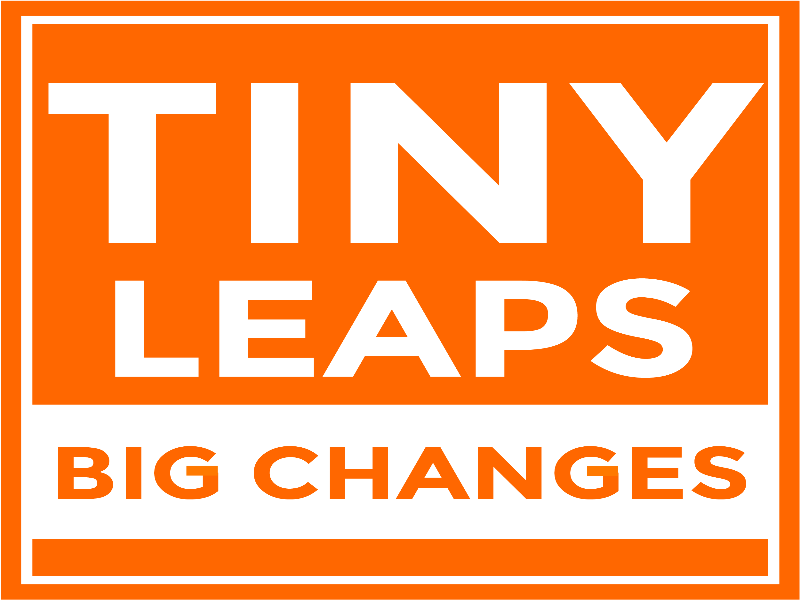 Cover art for Tiny Leaps