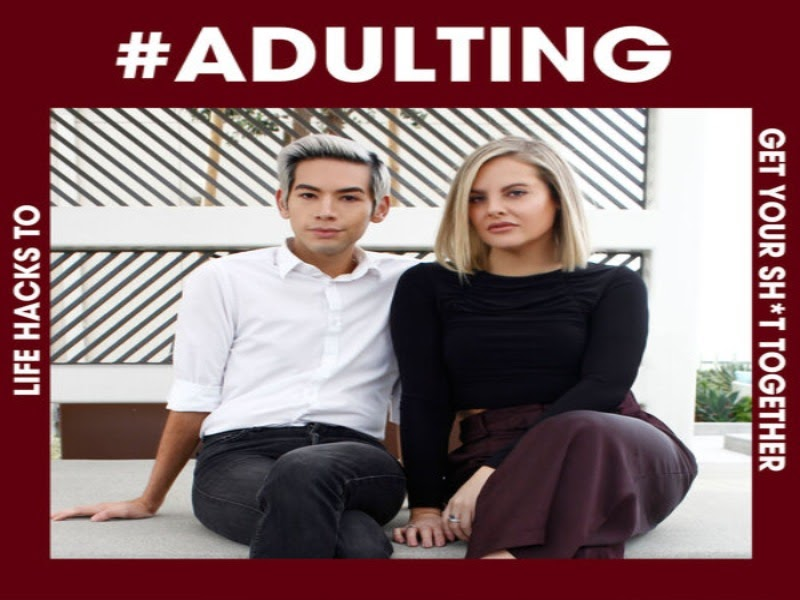 Cover art for #Adulting