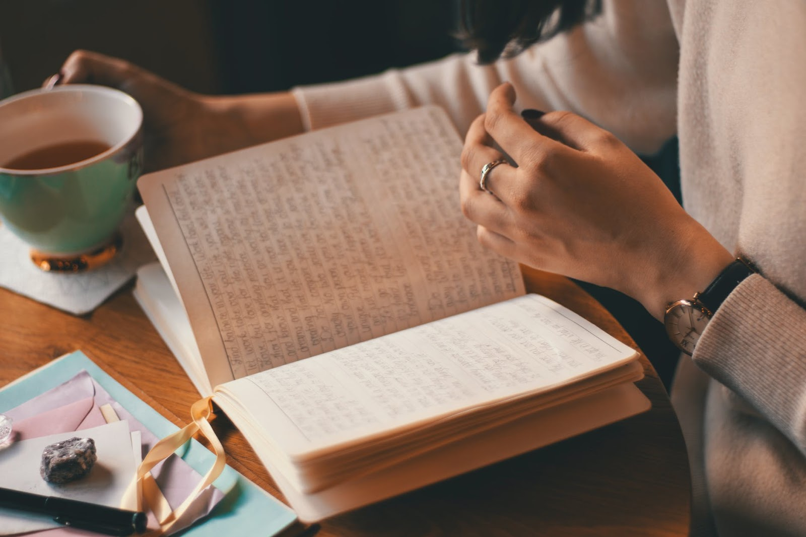 Journaling can be a great way to take something off your mind