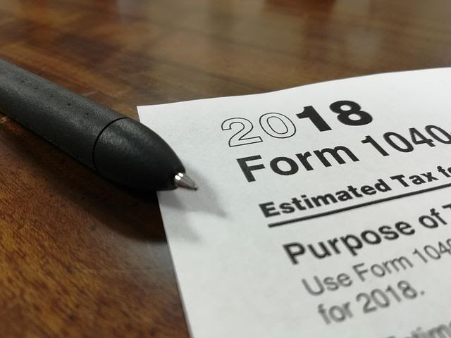 Form 1040, the main form that most people use to file taxes