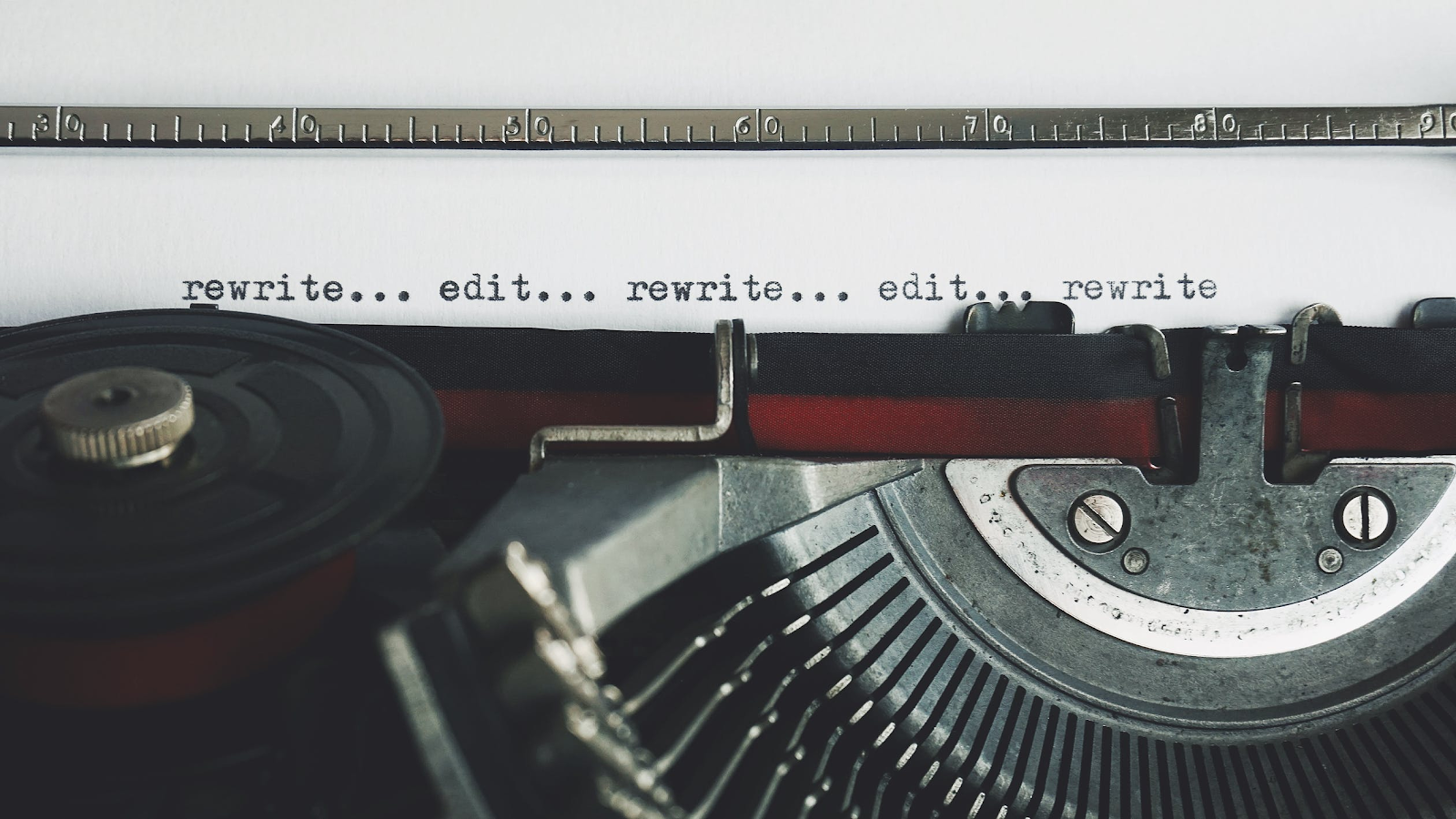 A type writer for a fiction writer.