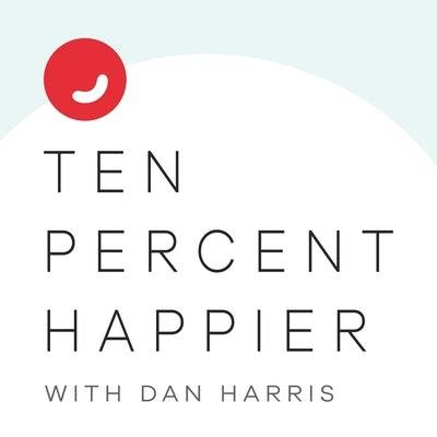 Ten Percent Happier with Dan Harris cover