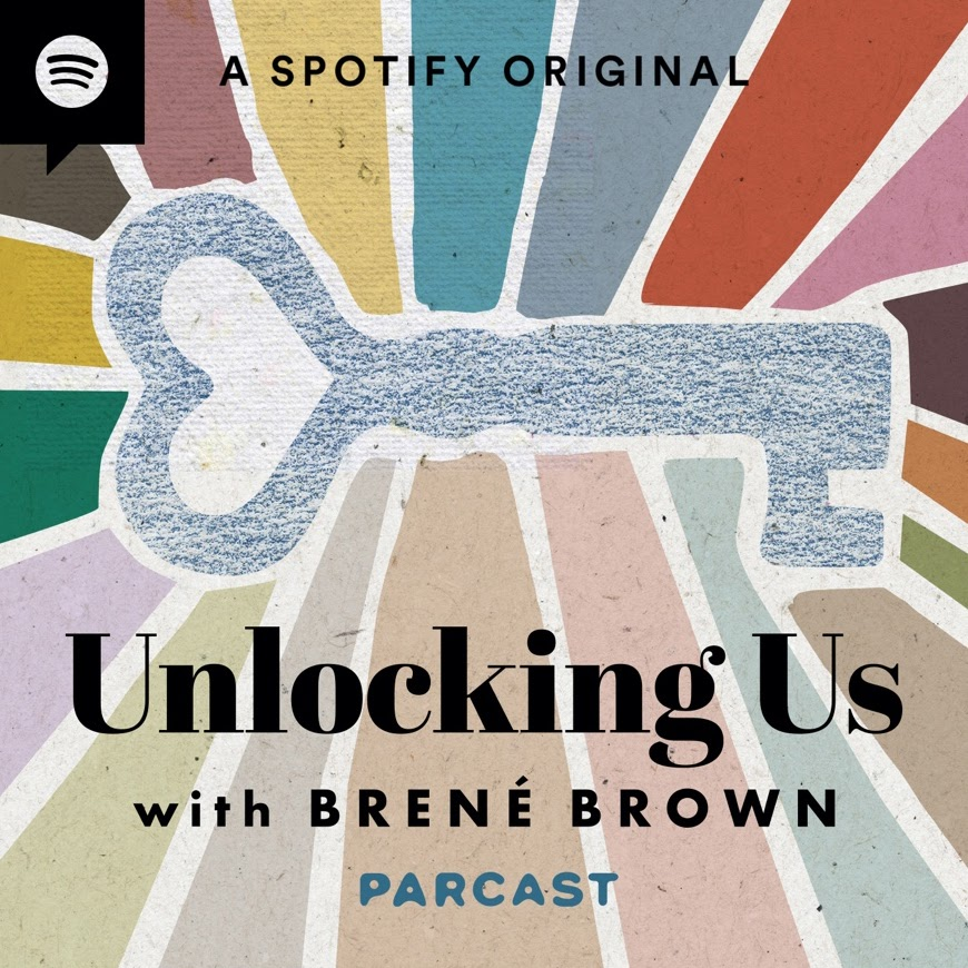 Unlocking Us with Brené Brown podcast cover art