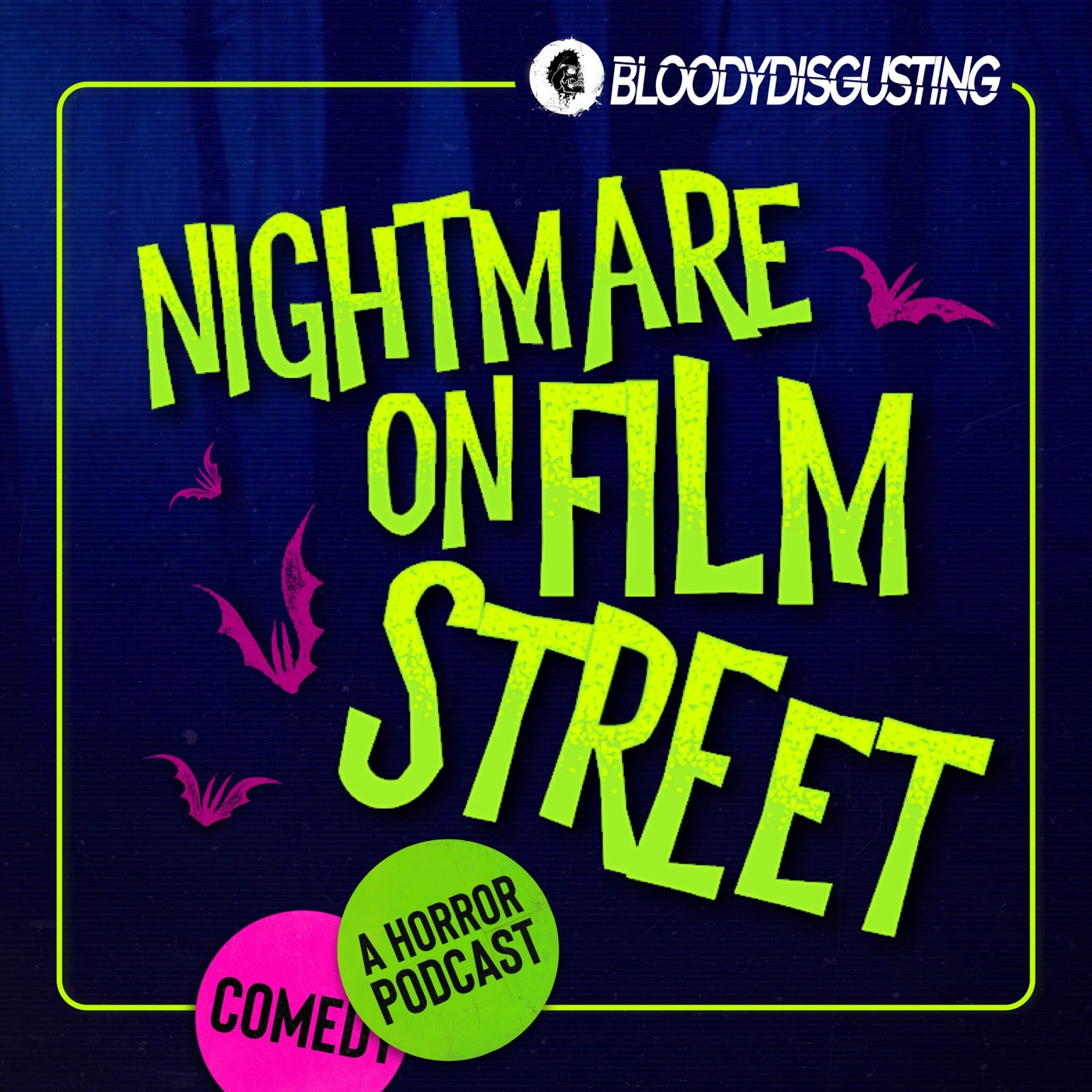 Nightmare on Film Street podcast cover