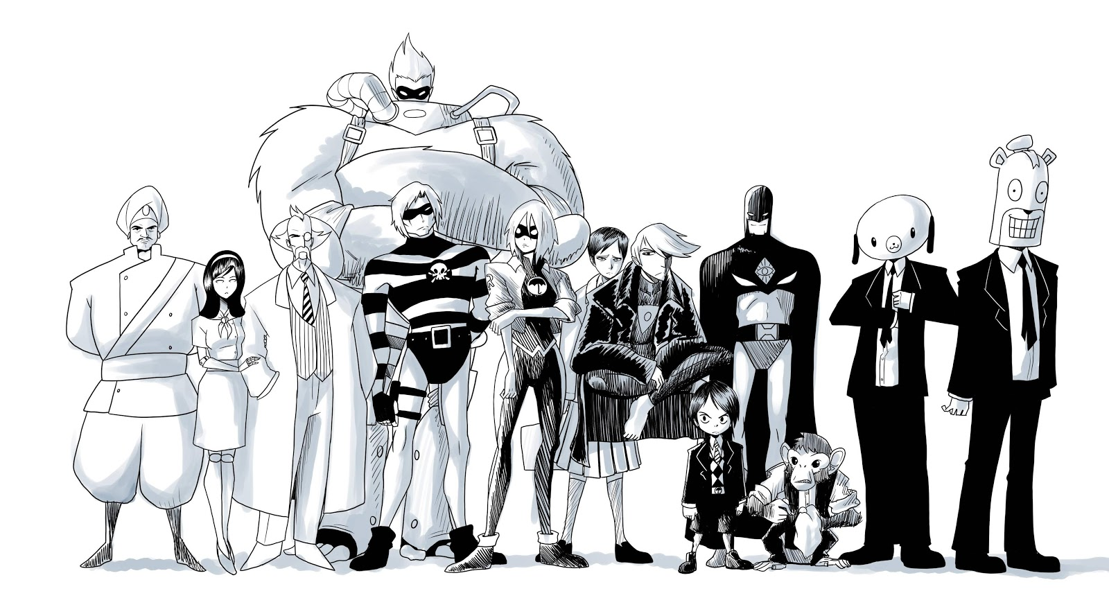 The Umbrella Academy Explained: What Is the Comic That Inspired the New  Netflix Series? - IGN