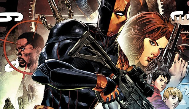 Christopher Priest on Deathstroke: World's Greatest Assassin, World's Worst  Dad - The B&N Sci-Fi and Fantasy Blog