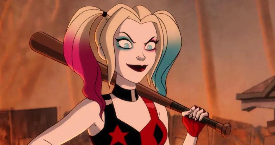cartoon version of Harley Quinn
