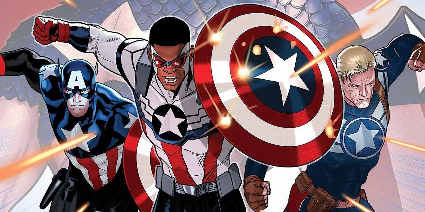 How the MCU Refocused the Comics on Captain America, Bucky & Sam Wilson