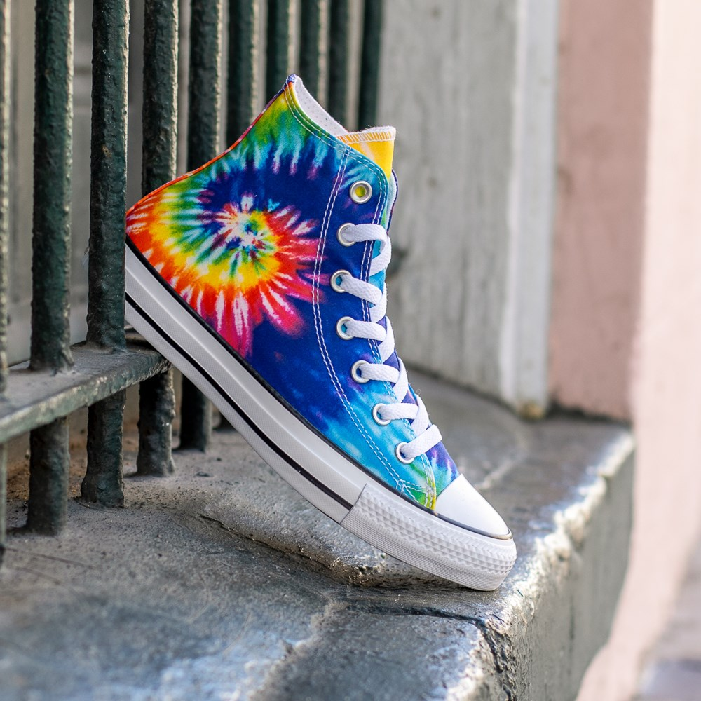 kidcore footwear in the form of the dye converse