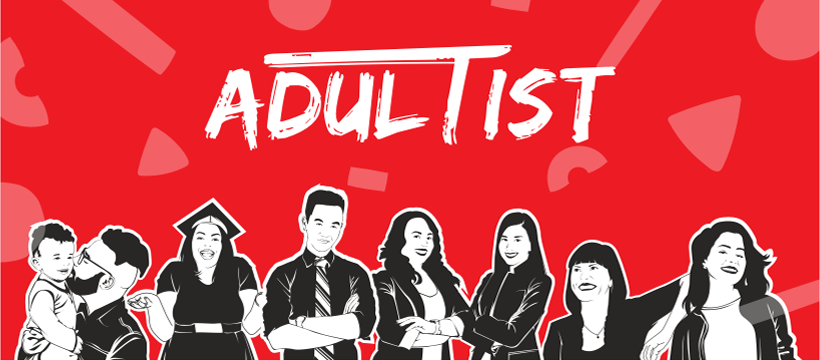Adultist banner