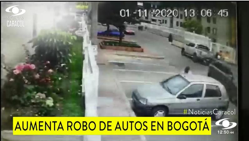 Robo de autos en Bogotá