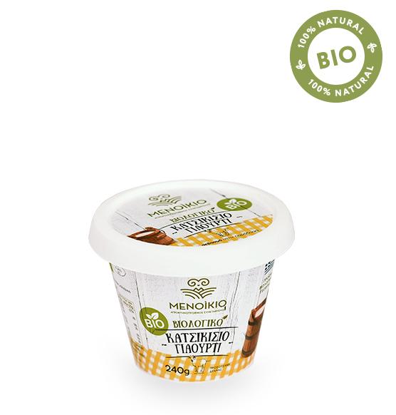 biological goat yogurt image