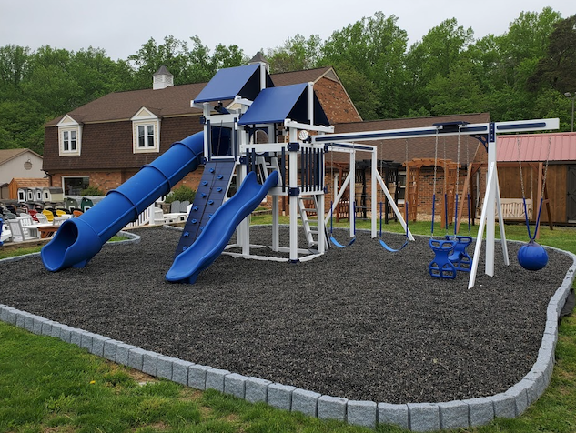 Kids Playground swing sets