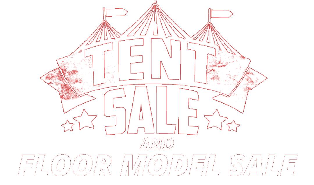 Furniture Tent Sale