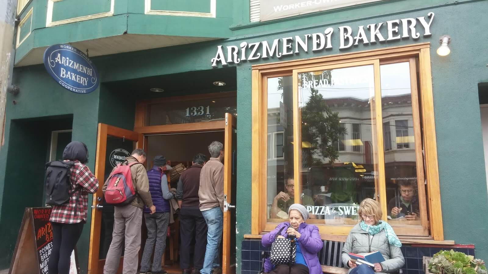 Arizmendi Bakery in Inner Sunset