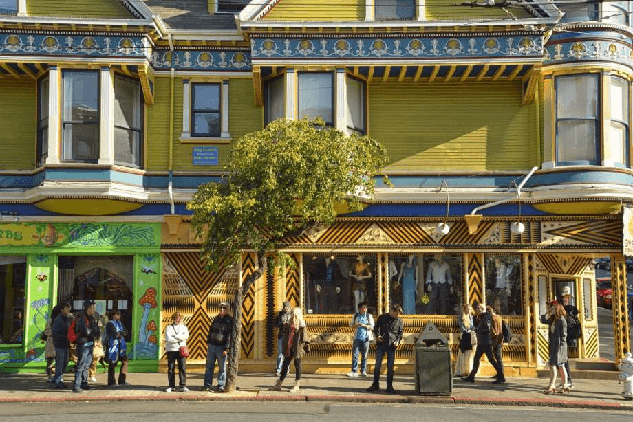 Haight Ashbury shops