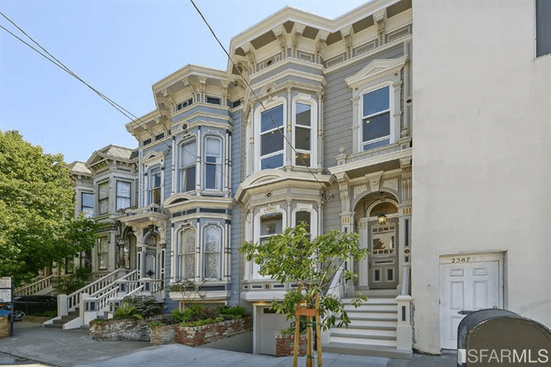 Lower Pacific Heights restored Victorian home