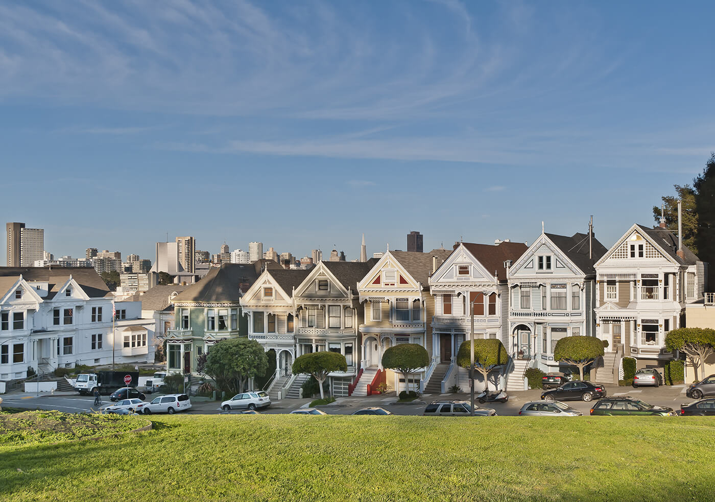 Painted Ladies in Western Addition