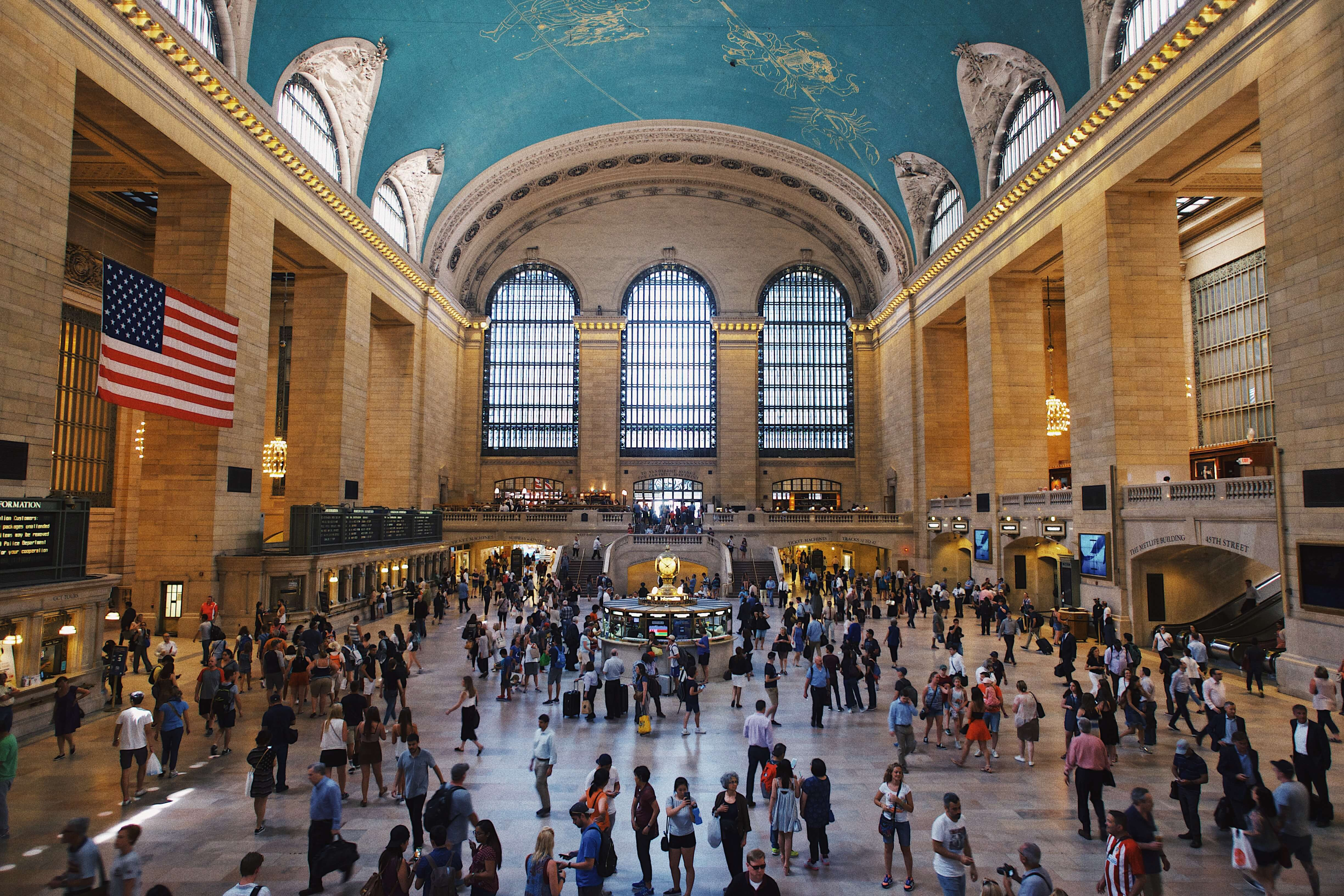 Grand Central Station interior NYC