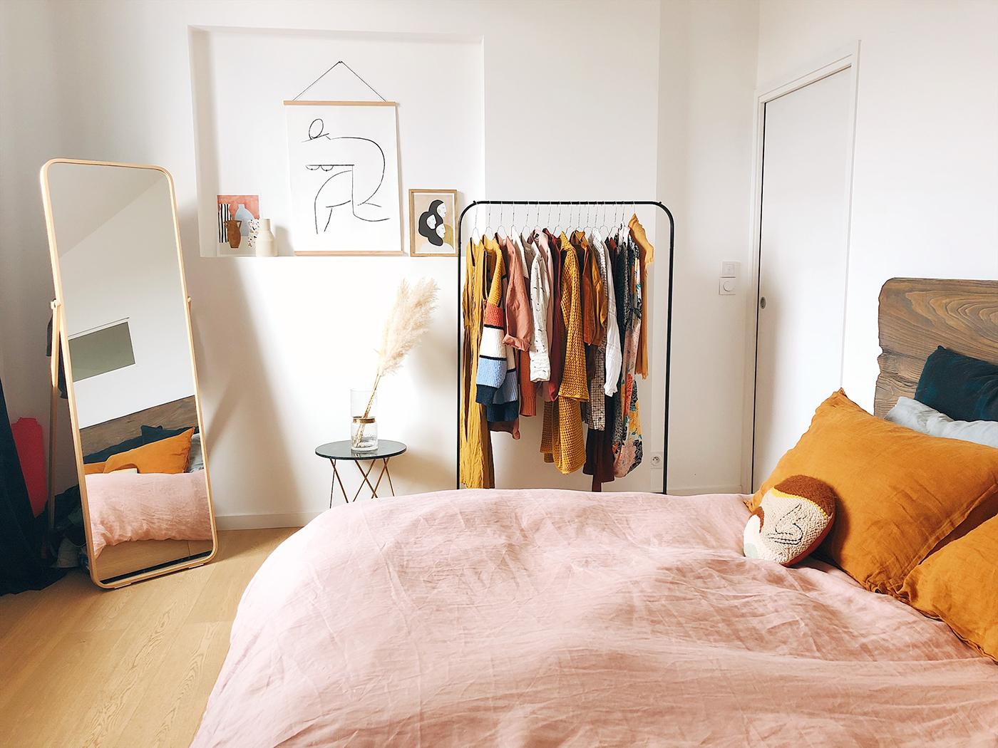 Stylish 1-bedroom apartment interior