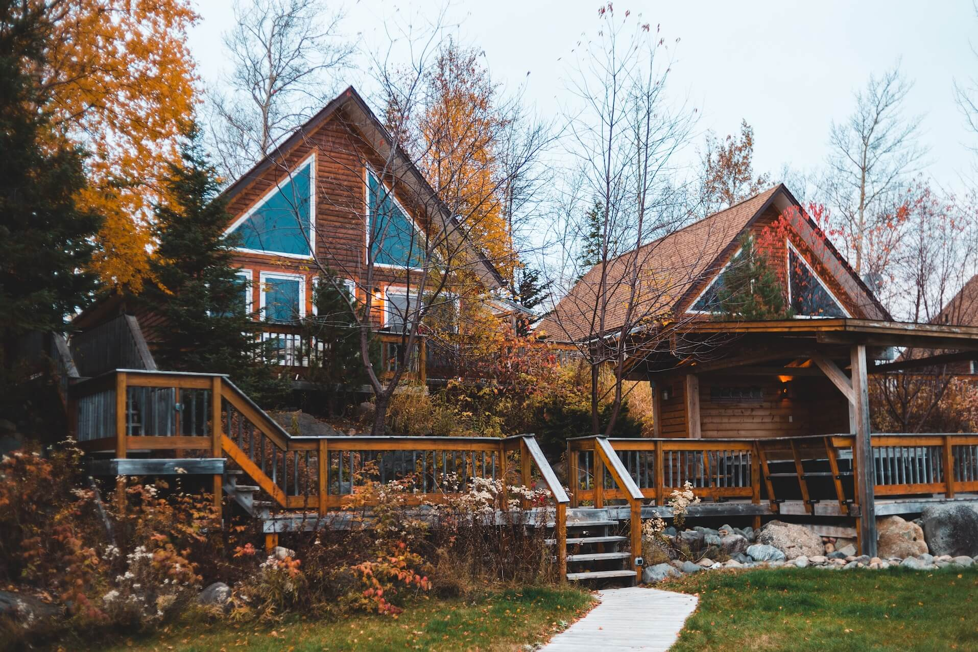 Short term housing mountain cabins