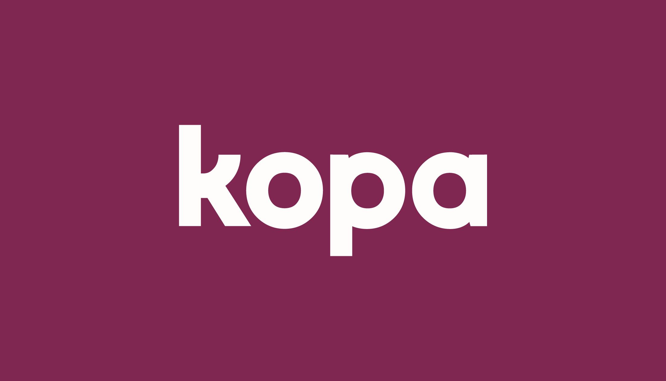 Kopa Brand Update 2020