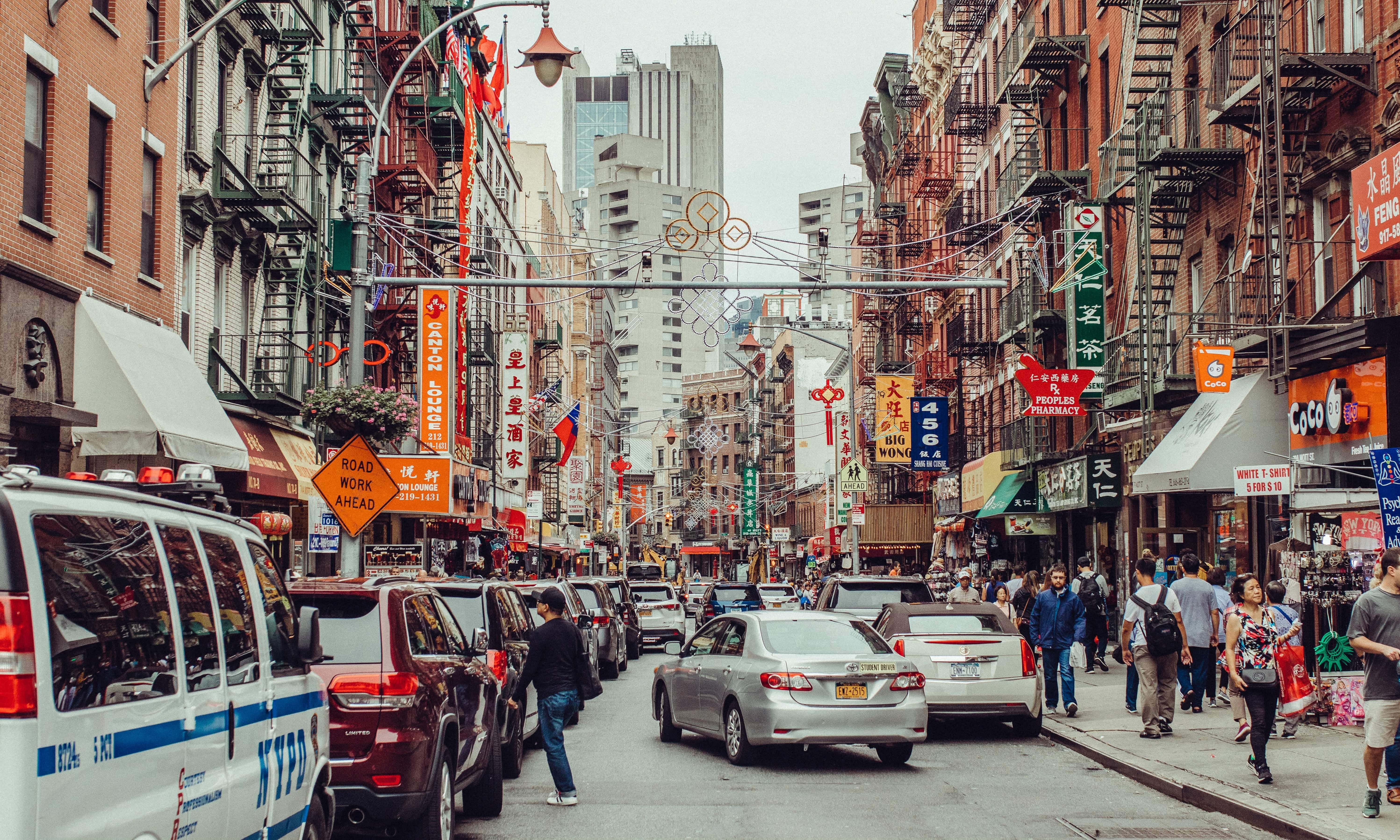 Downtown Chinatown NYC