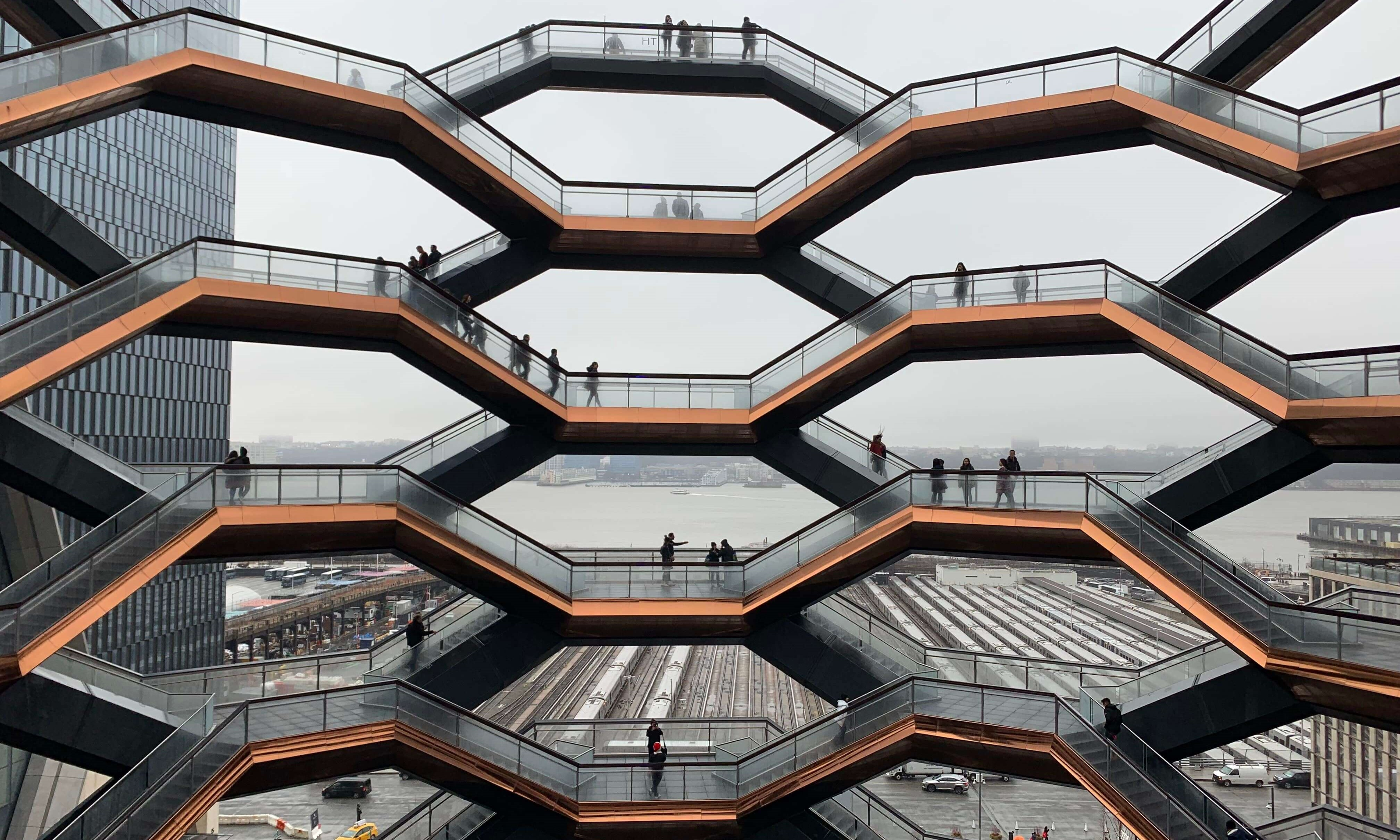 The Vessel at Hudson Yards