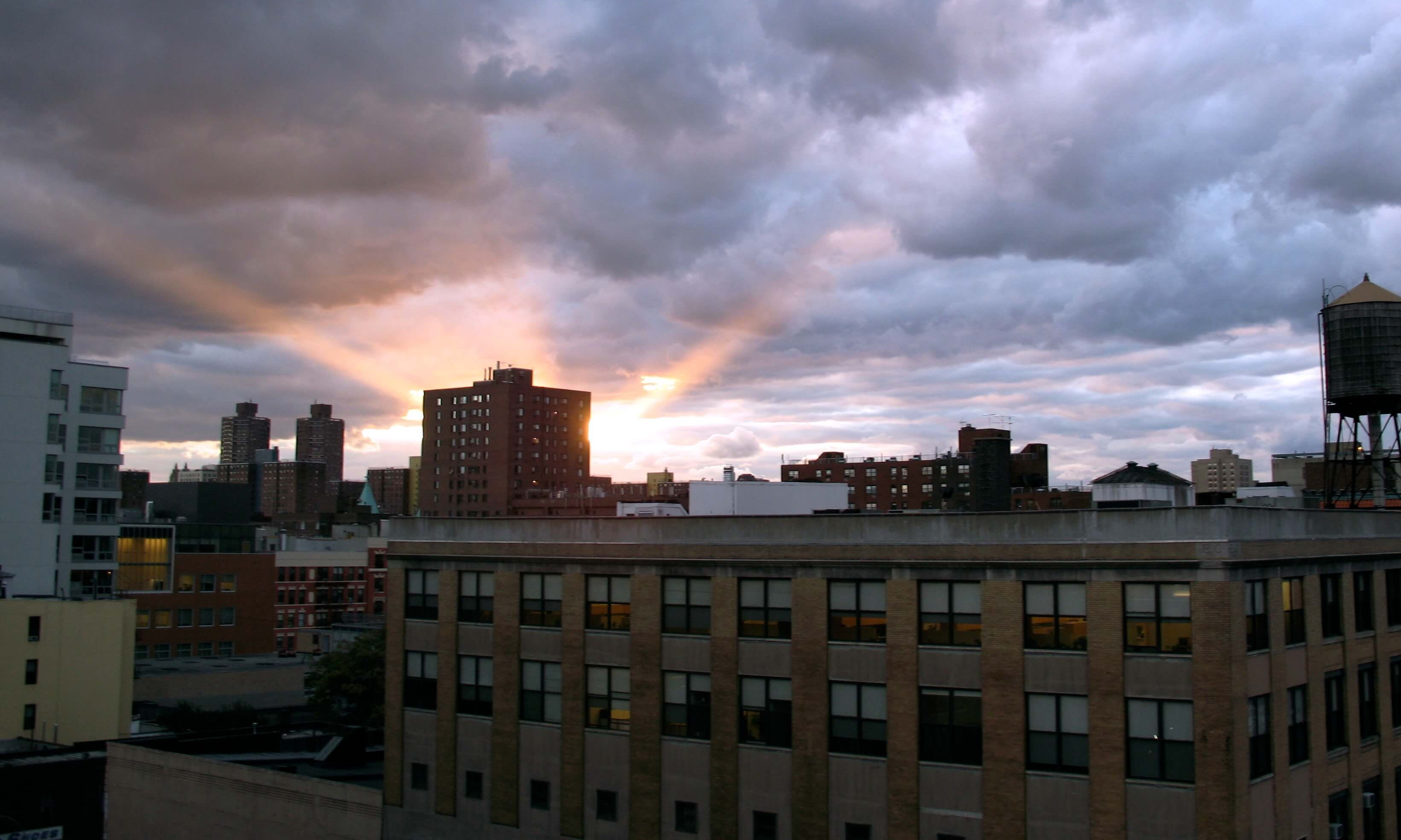 East Harlem sunset