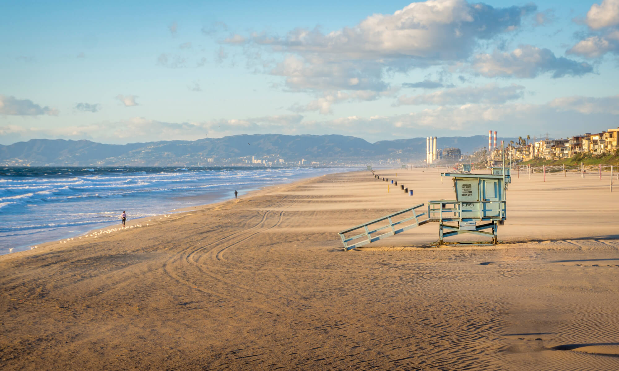 Manhattan Beach in Los Angeles