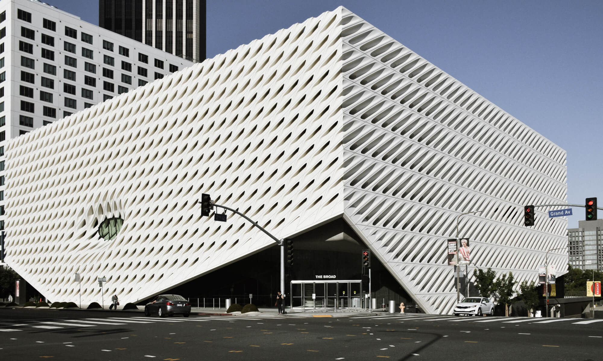 The Broad Museum in Downtown LA