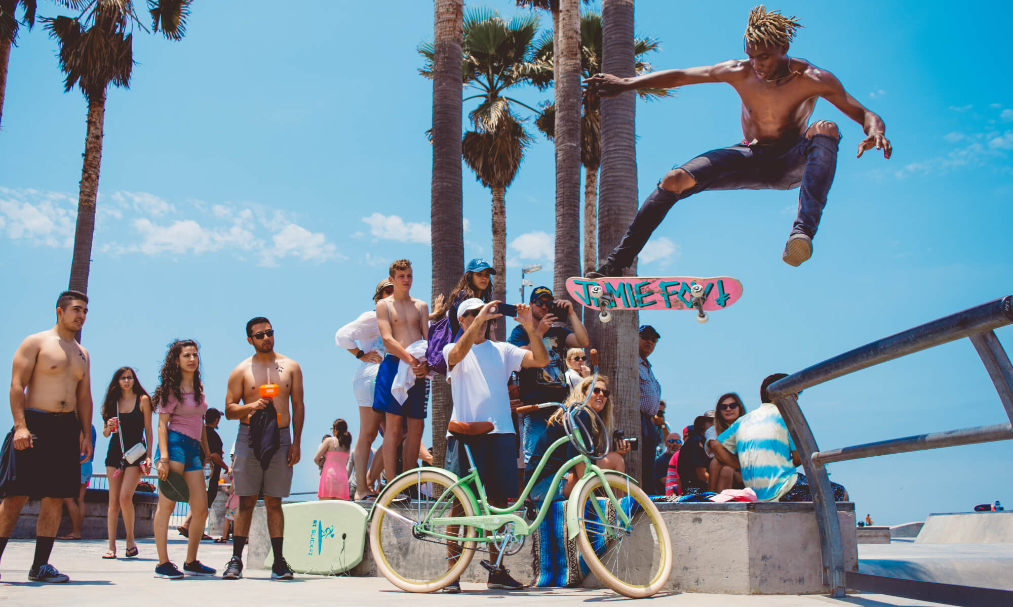 Venice Beach in Los Angeles