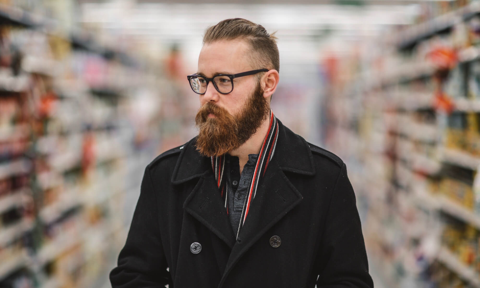 Brooklyn man in grocery store