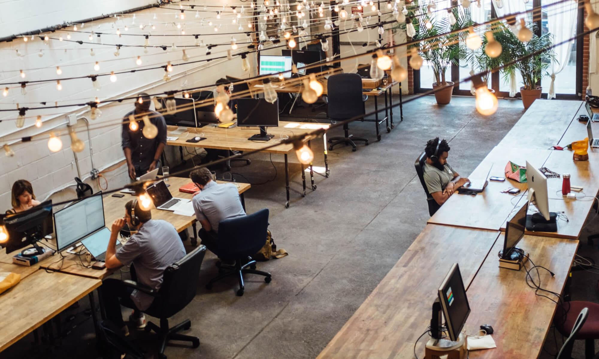 Co-working space in Brooklyn