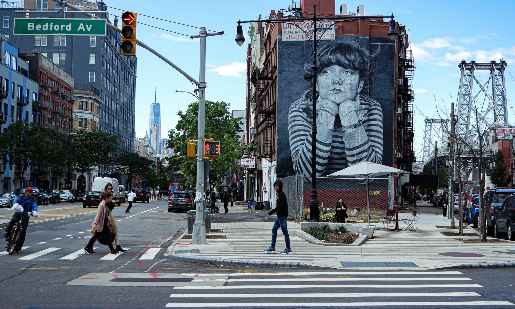Street in Williamsburg, Brooklyn
