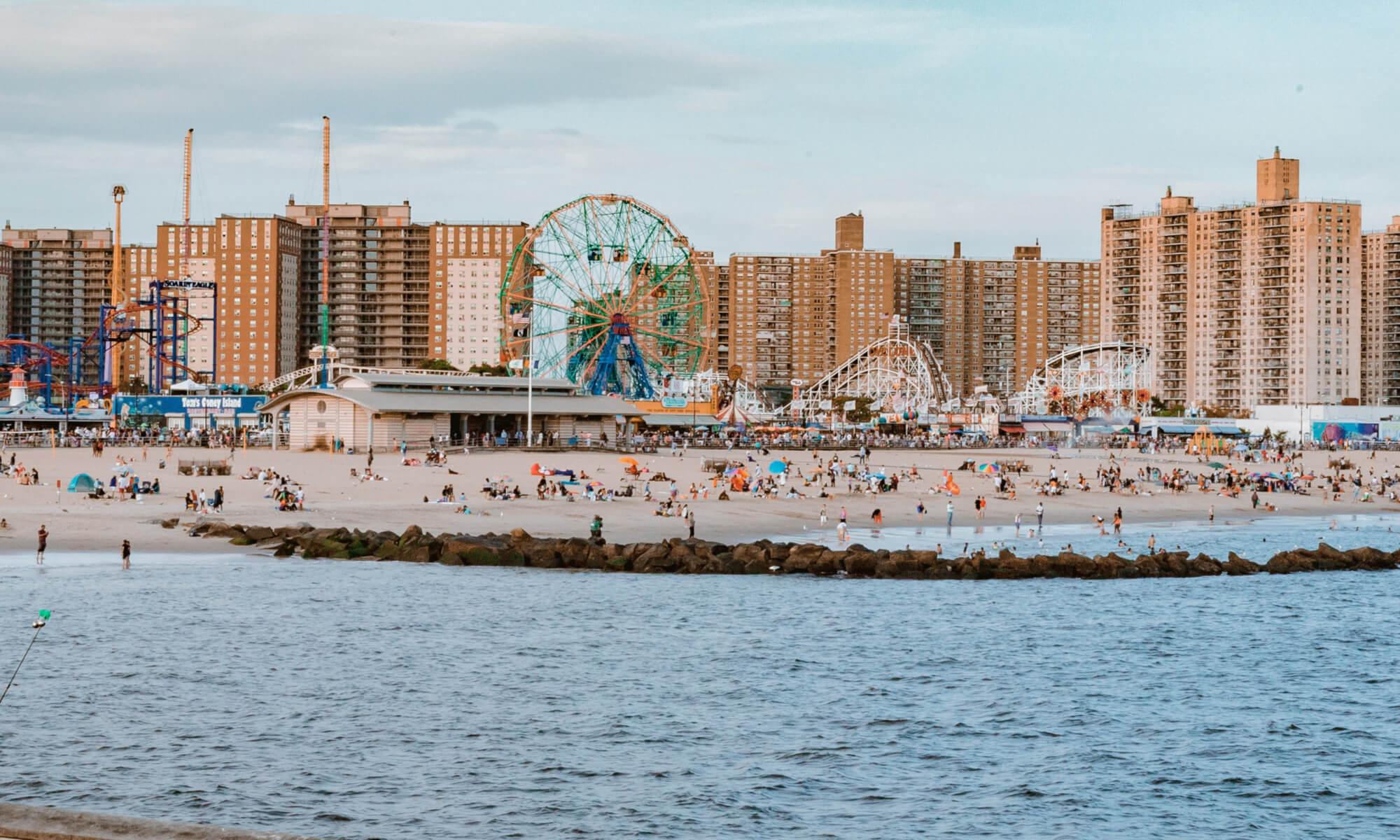 Coney Island in Brooklyn