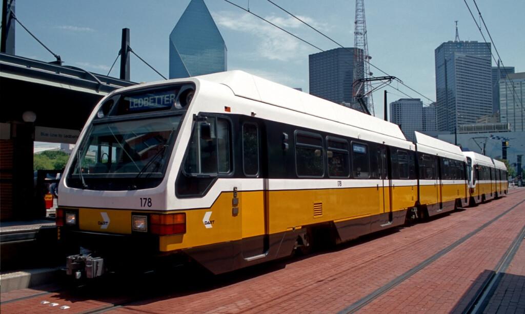 trainlines in Dallas, texas