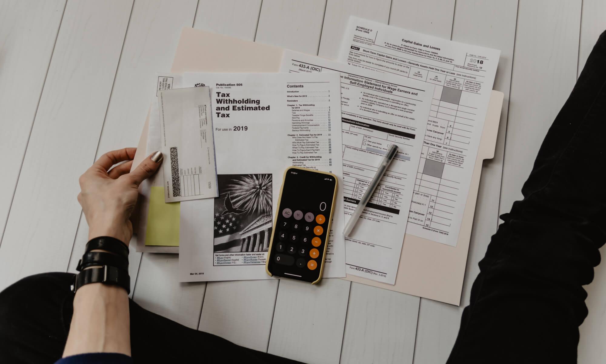 taxes calculation in dallas, texas