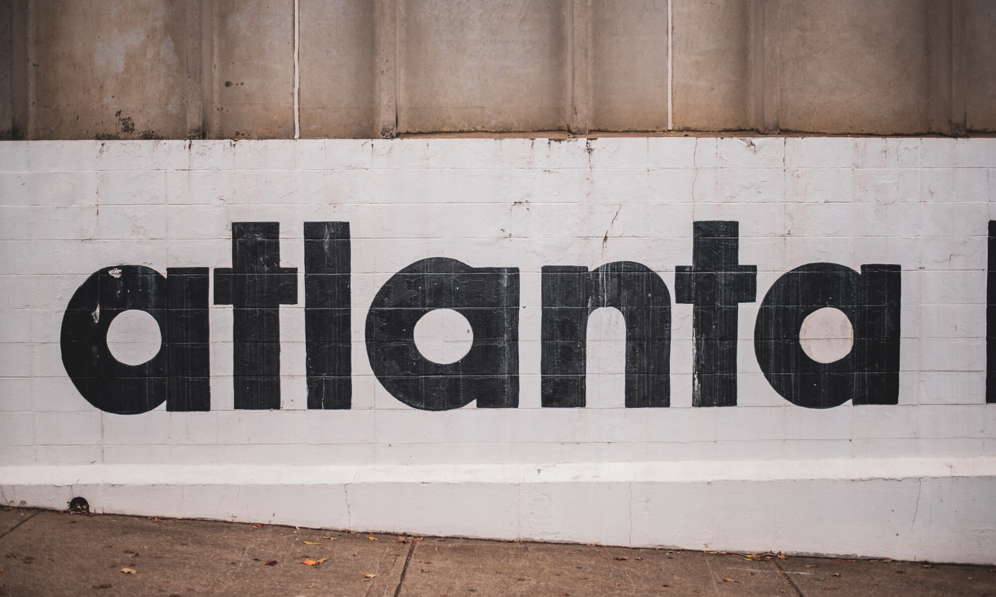 Atlanta sign in Atlanta, Georgia