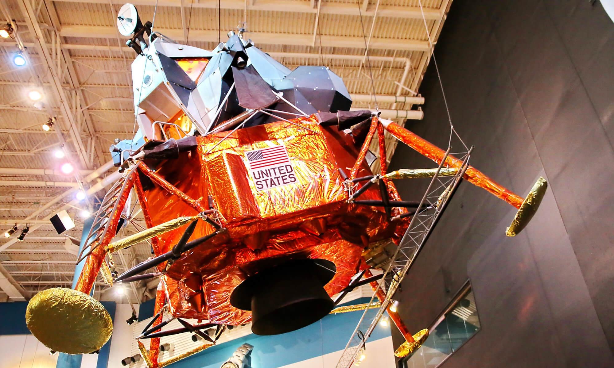 Space center in Houston, Texas
