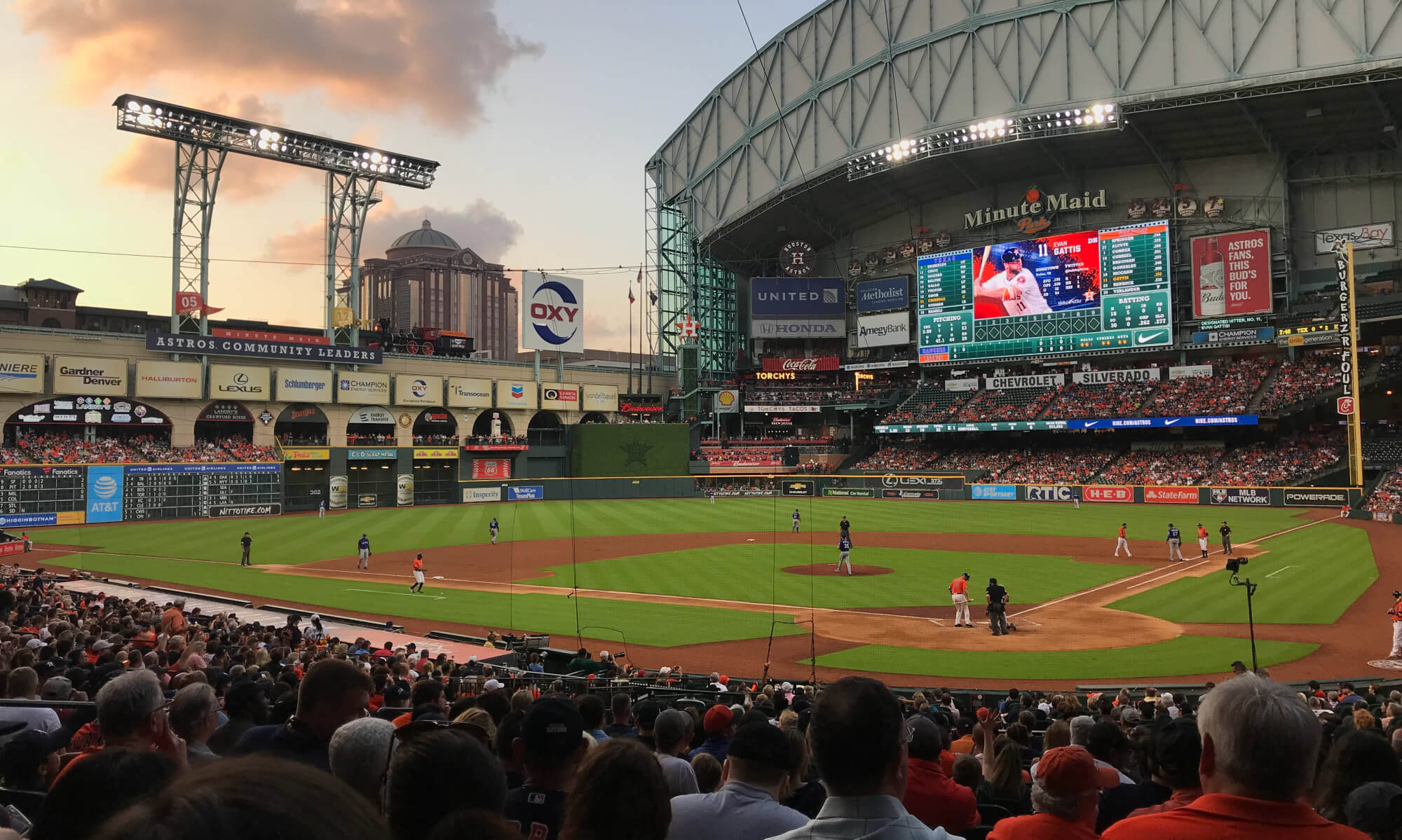 Astros Field in Houston, Texas